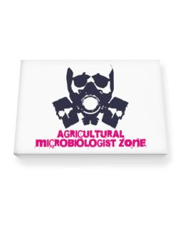 Agricultural Microbiologist Zone - Gas Mask Canvas square