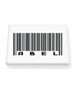 Bar Code Abel Canvas square