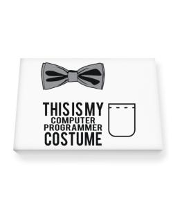 this is my Computer Programmer costume Canvas square