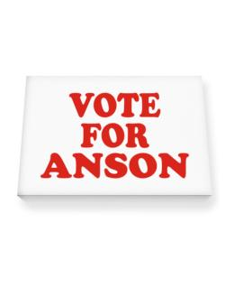 Vote For Anson Canvas square