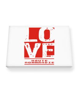 Love Haute-Normandie Canvas square