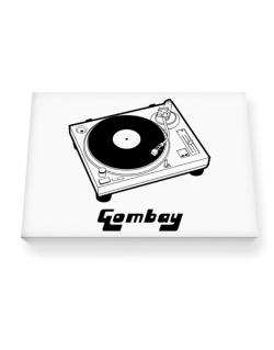 Retro Gombay - Music Canvas square