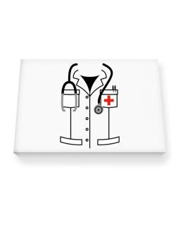 Baby Doctor Canvas square