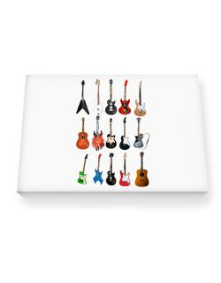 Guitar Players Are Well Strung Canvas square