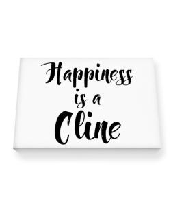 Happiness is a Cline Canvas square
