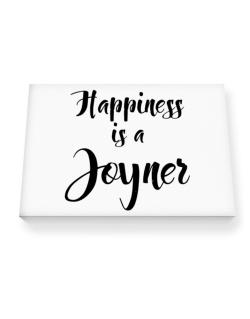 Happiness is a Joyner Canvas square