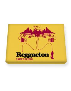 """  Reggaeton plugged into the sound "" Canvas square"