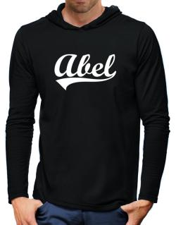 Abel Hooded Long Sleeve T-Shirt-Mens