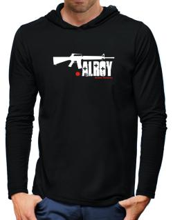 Alroy Street Veteran Hooded Long Sleeve T-Shirt-Mens