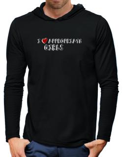 I Love Appropriate Girls Hooded Long Sleeve T-Shirt-Mens