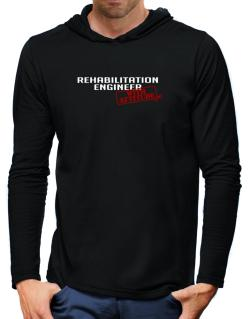 Rehabilitation Engineer With Attitude Hooded Long Sleeve T-Shirt-Mens