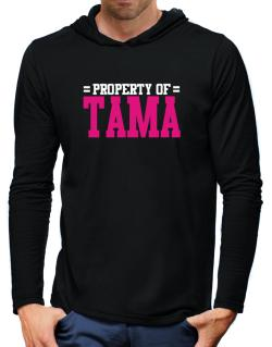 Property Of Tama Hooded Long Sleeve T-Shirt-Mens