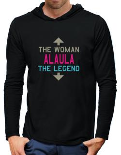 Alaula - The Woman, The Legend Hooded Long Sleeve T-Shirt-Mens