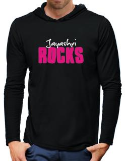 Jayashri Rocks Hooded Long Sleeve T-Shirt-Mens