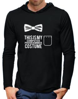 this is my Computer Programmer costume Hooded Long Sleeve T-Shirt-Mens