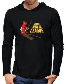 Aide Ninja League Hooded Long Sleeve T-Shirt-Mens
