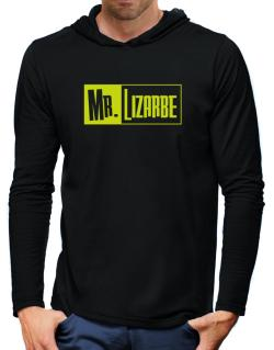 Mr. Lizarbe Hooded Long Sleeve T-Shirt-Mens