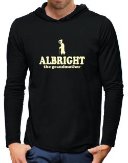 Albright The Grandmother Hooded Long Sleeve T-Shirt-Mens