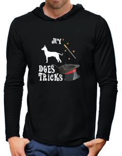 My Peruvian Hairless Dog Does Tricks ! Hooded Long Sleeve T-Shirt-Mens