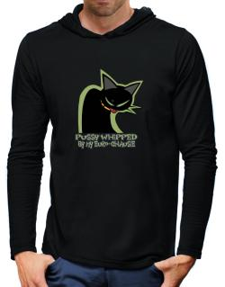 Pussy Whipped By My Euro Chausie Hooded Long Sleeve T-Shirt-Mens