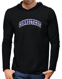 Connecticut Classic Hooded Long Sleeve T-Shirt-Mens
