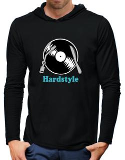 Hardstyle - Lp Hooded Long Sleeve T-Shirt-Mens