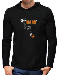 Delta Blues It Makes Me Feel Alive ! Hooded Long Sleeve T-Shirt-Mens