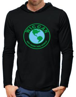Wiccan Not From This World Hooded Long Sleeve T-Shirt-Mens