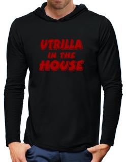 Utrilla In The House Hooded Long Sleeve T-Shirt-Mens