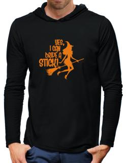 Yes, I Can Drive A Stick! Hooded Long Sleeve T-Shirt-Mens