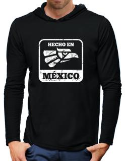 Hecho en Mexico Hooded Long Sleeve T-Shirt-Mens