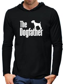 The dogfather Fox Terrier Hooded Long Sleeve T-Shirt-Mens
