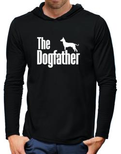 The dogfather Peruvian Hairless Dog Hooded Long Sleeve T-Shirt-Mens
