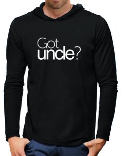 Got Auncle? Hooded Long Sleeve T-Shirt-Mens