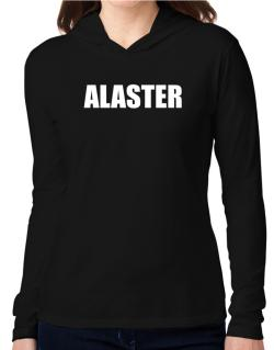 Alaster Hooded Long Sleeve T-Shirt Women
