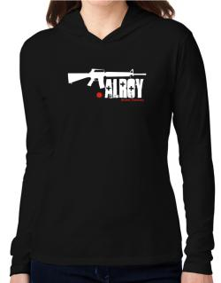 Alroy Street Veteran Hooded Long Sleeve T-Shirt Women
