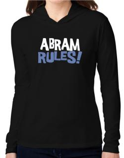 Abram Rules! Hooded Long Sleeve T-Shirt Women
