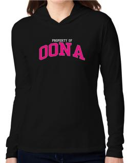 Property Of Oona Hooded Long Sleeve T-Shirt Women
