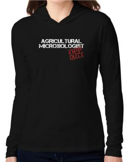 Agricultural Microbiologist - Off Duty Hooded Long Sleeve T-Shirt Women