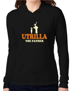 Utrilla The Father Hooded Long Sleeve T-Shirt Women