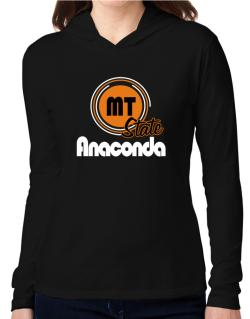 Anaconda - State Hooded Long Sleeve T-Shirt Women
