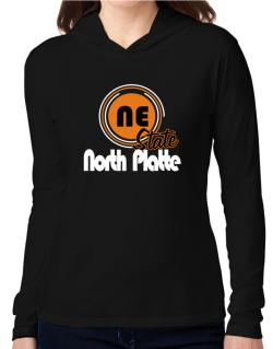 North Platte - State Hooded Long Sleeve T-Shirt Women