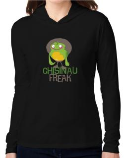 Chisinau Freak Hooded Long Sleeve T-Shirt Women