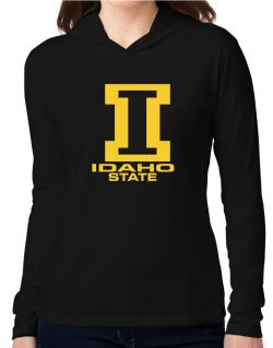 """ STATE ABC Idaho "" Hooded Long Sleeve T-Shirt Women"