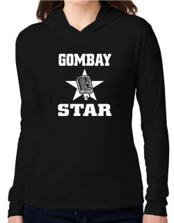 Gombay Star - Microphone Hooded Long Sleeve T-Shirt Women