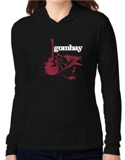 Gombay - Feel The Music Hooded Long Sleeve T-Shirt Women