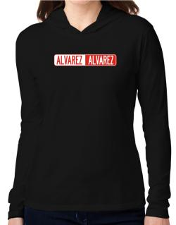 Negative Alvarez Hooded Long Sleeve T-Shirt Women