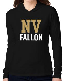 Fallon - Postal usa Hooded Long Sleeve T-Shirt Women