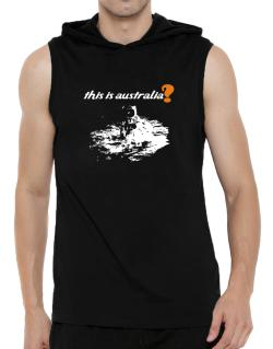 This Is Australia? - Astronaut Hooded Sleeveless T-Shirt - Mens