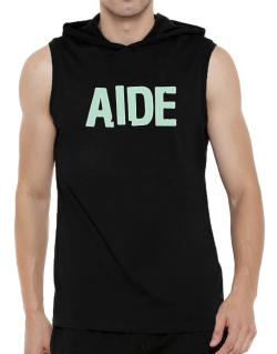 Aide Hooded Sleeveless T-Shirt - Mens